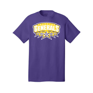 Johnston Generals Tee (Purple)