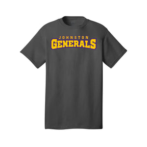 Johnston Generals Tee (Charcoal)