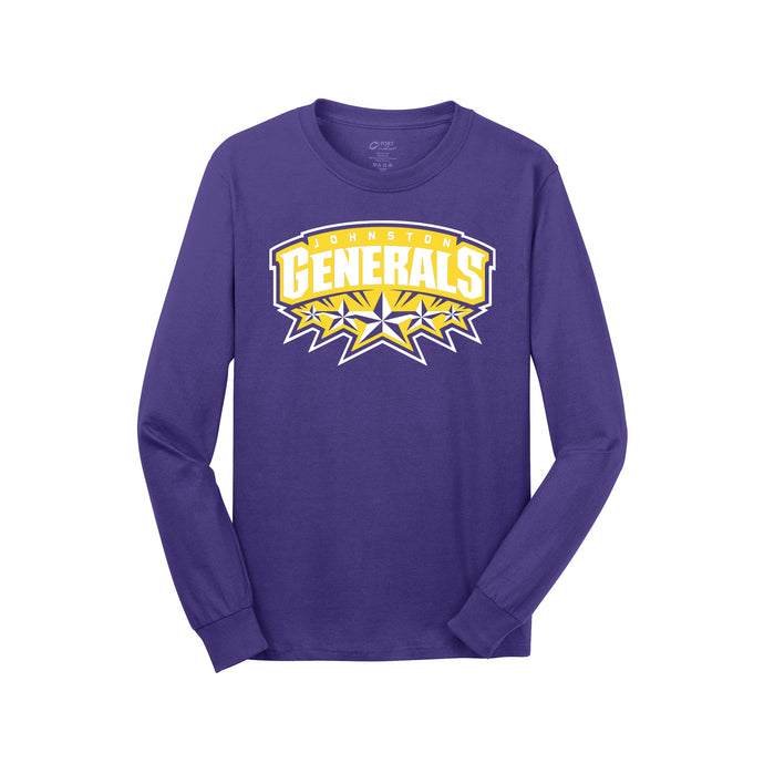 Johnston Generals LS Tee (Purple)