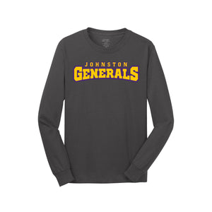 Johnston Generals LS Tee (Charcoal)
