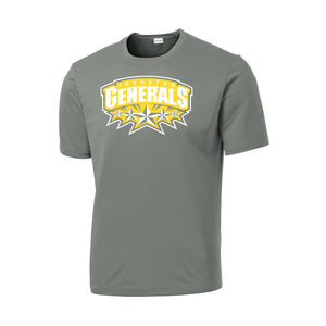 Johnston Generals Dri-Fit Tee (Grey Concrete)