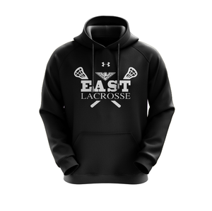 East Lacrosse UA Hustle Fleece Hoody