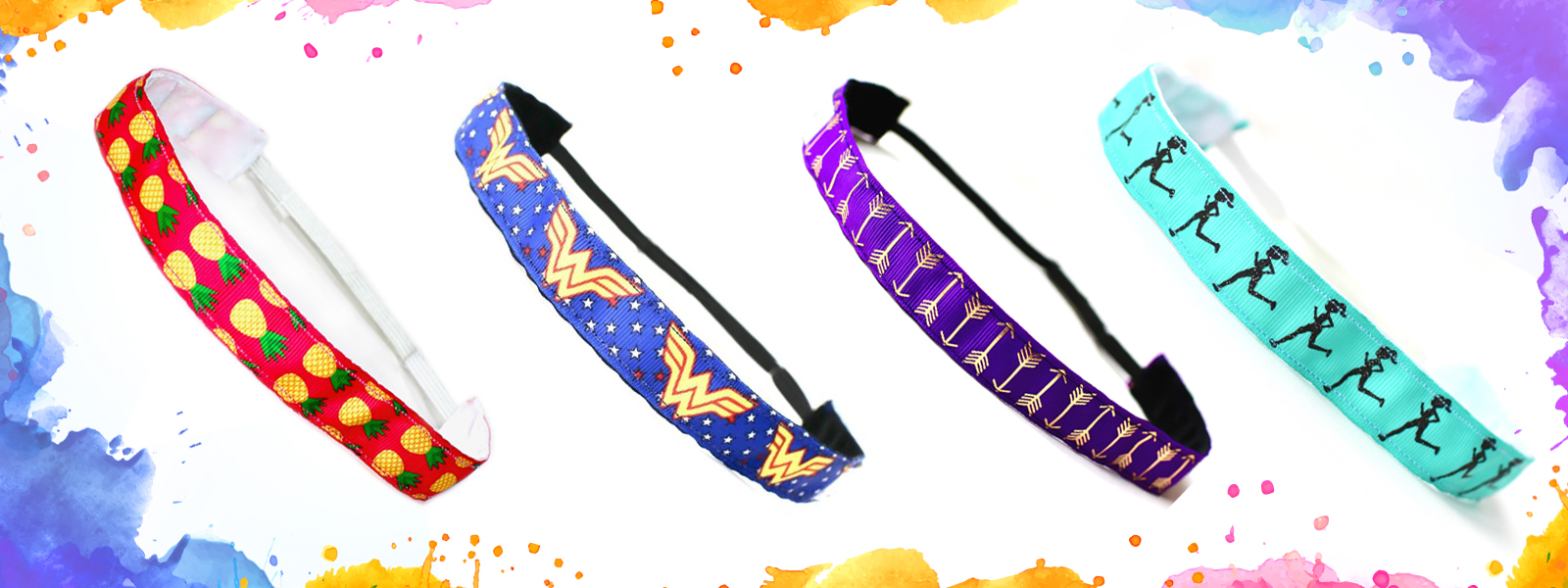 Women's Non-Slip Headbands for Sports & Running