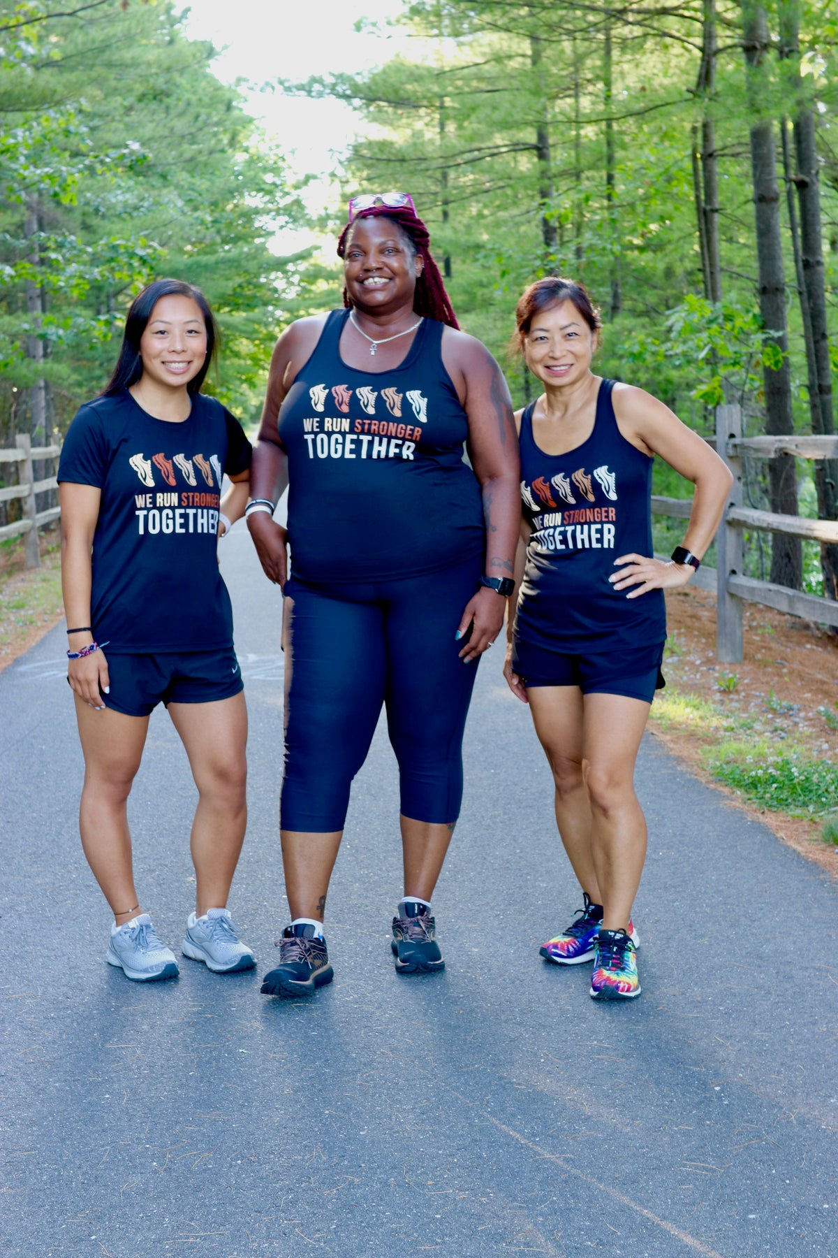 We Run Stronger Together Tank