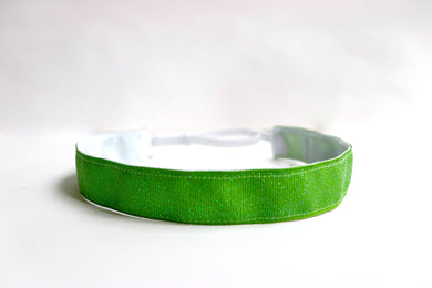 Green Sparkle Non-Slip Headband