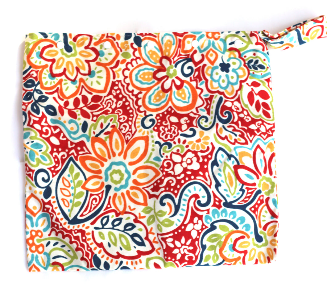 Funky Floral Wet Bag