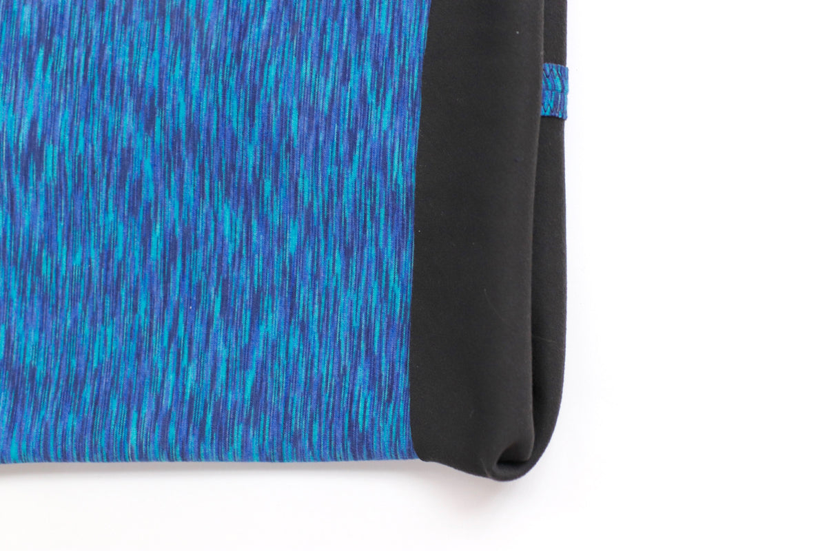 Blue Space Dye Fleece Gaiter