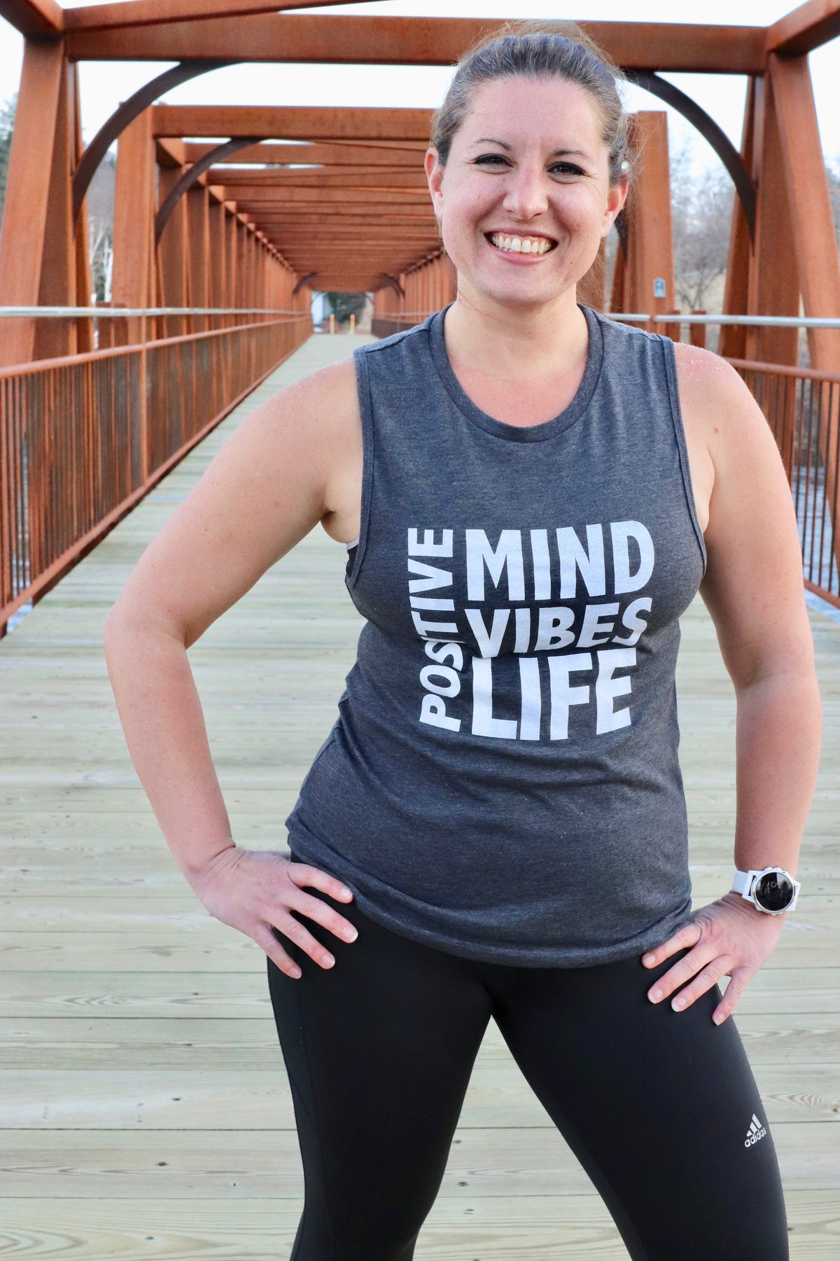 Positive Vibes: Mind - Vibes - Life Muscle Tank