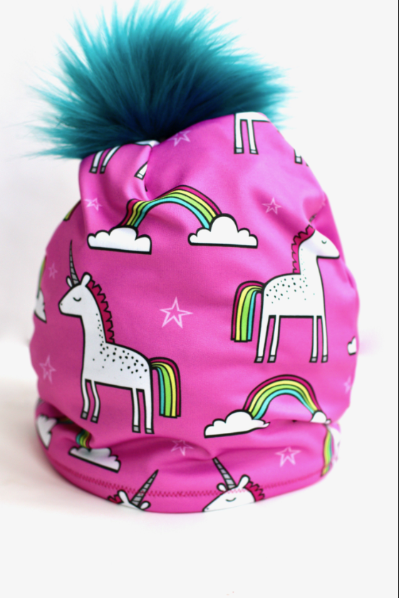 Unicorn Fleece Lined Hat