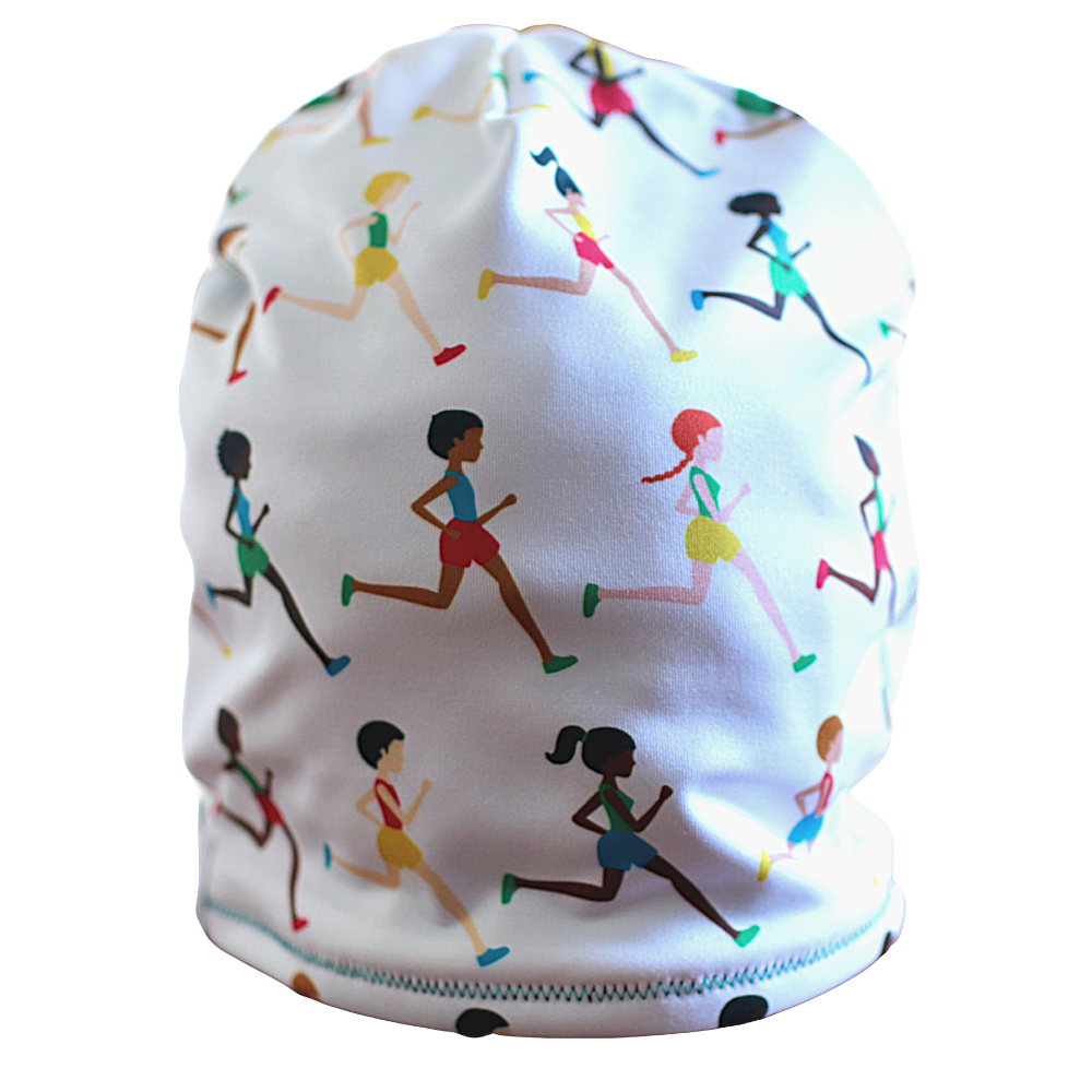 The Future Is Female Runners Fleece Lined Hat