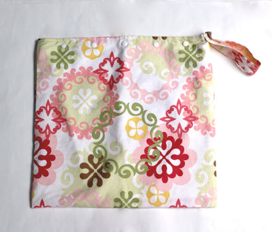 French Floral Wet Bag