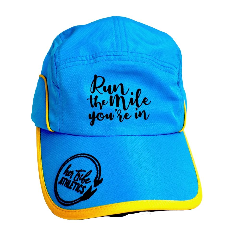Run The Mile You're In Moisture Wicking Hat