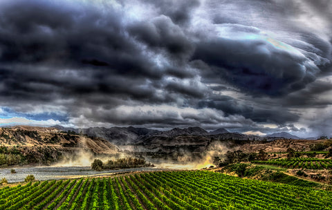 Storm over the Awatere