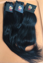 Jet Black Hair (Black Bombay Wavy & Natural Curly Hair)