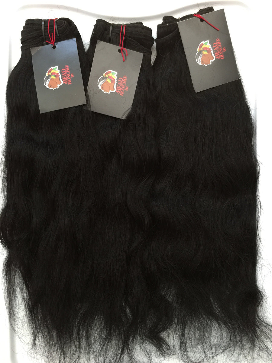 Jet Black Hair (Black Slay Wavy & Natural Curly Hair)