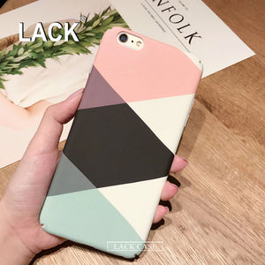 Geometric Graphic Pattern Case For iphone 7 6 6S PLus