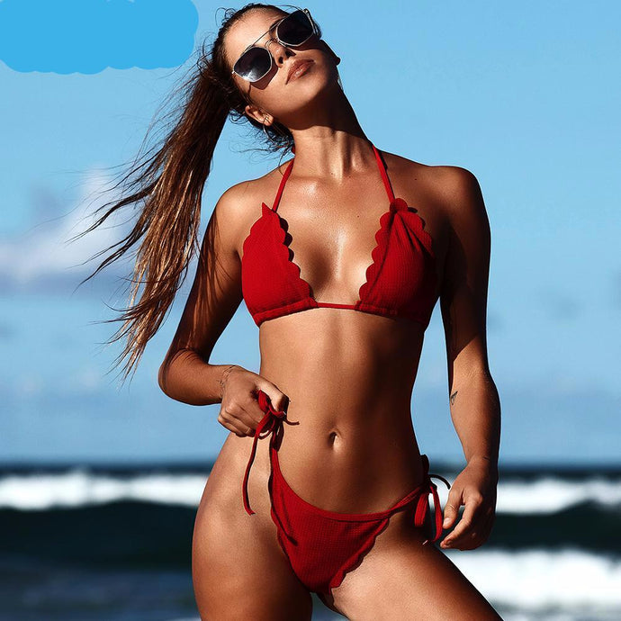 Bikinis Set Push Up Swim Wear