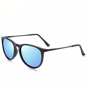 Polarized Sunglasses Women Silver Mirror UV400 Shades Sun
