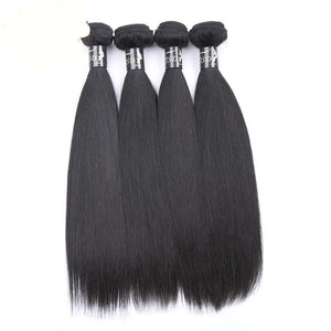 Brazilian Virgin Straight 4 Bundles