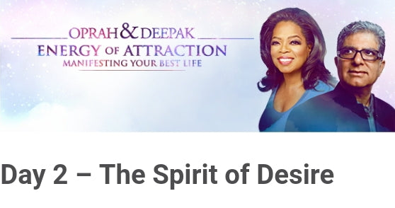 23 Day Meditation Challenge Oprah and Deepak CHOPRA  | Natural Elements By L
