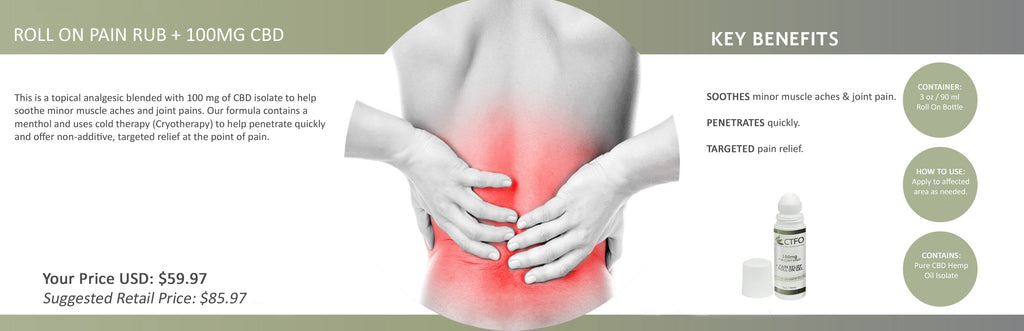 back pain cbd natural elements by l