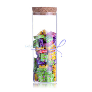 1 Transparent Glass Storage Jar Kitchen Elements