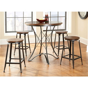 Round 36-inch Counter Height Kitchen Dining Table