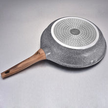 Natural Elements True Wood Stone Skillet Frying Pan
