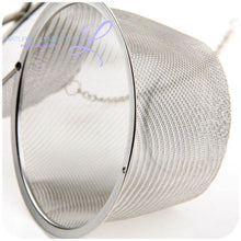 3 Size Stainless Steel Tea Locking Spice Egg Shape Ball Mesh Infuser Strainer With 2 Handles Lid Kc1430