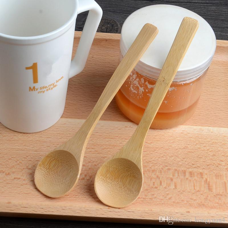 6Pcs Mini Wooden Spoons Kitchen Utensil