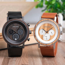 BOBO BIRD Mens Luxury Wooden Wristwatch
