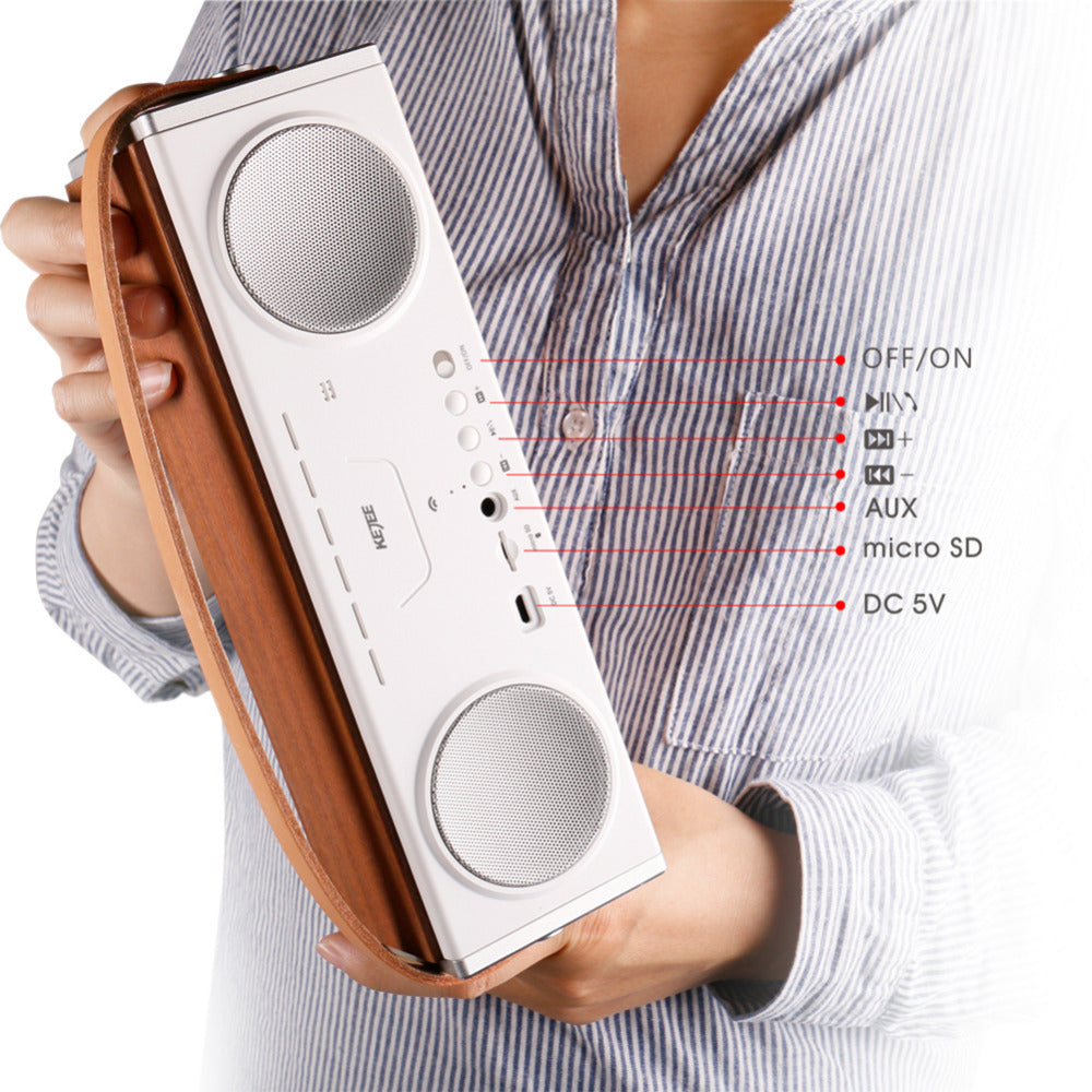 Rondaful Bluetooth 4.2 Loud Speaker Stereo