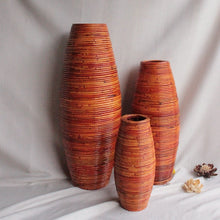 Maddy Large Bamboo Floor Vase