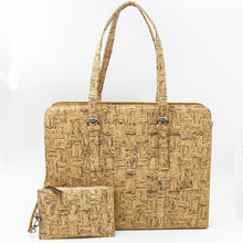 Cork Life Handbag Laptop Cork Briefcase Handmade BAG-323