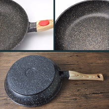 Natural Elements 20-28 cm Removable Handle Wood Stone Pan