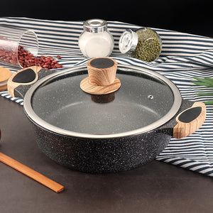 Natural Elements Non-Stick Wood Stone Soup Pot