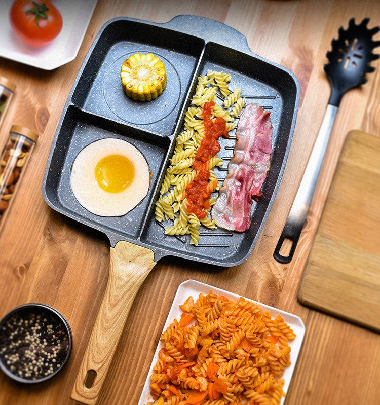 Natural Elements Non-Stick Wood Stone Chef Pans