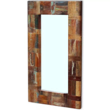 Natural Elements Solid Reclaimed Wood Vintage Mirror