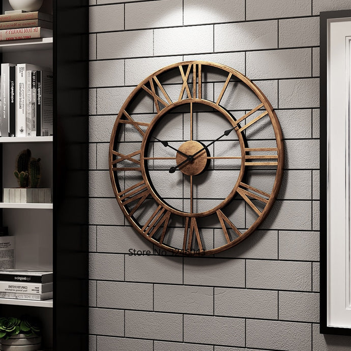 Modern Minimalist American Fashion Wall Clock
