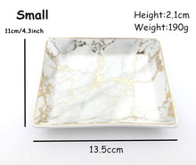 Natural Elements Contemporary Living Nordic Ceramic Rectangle Tray
