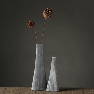 Folding Paper Poly Resin Flower Vase