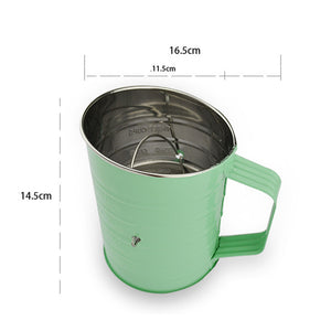 Sugar Color Stainless Steel Mesh Flour Sifter