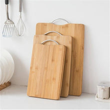 Bamboo Rectangle Hangable Cutting Board Durable Non-slip