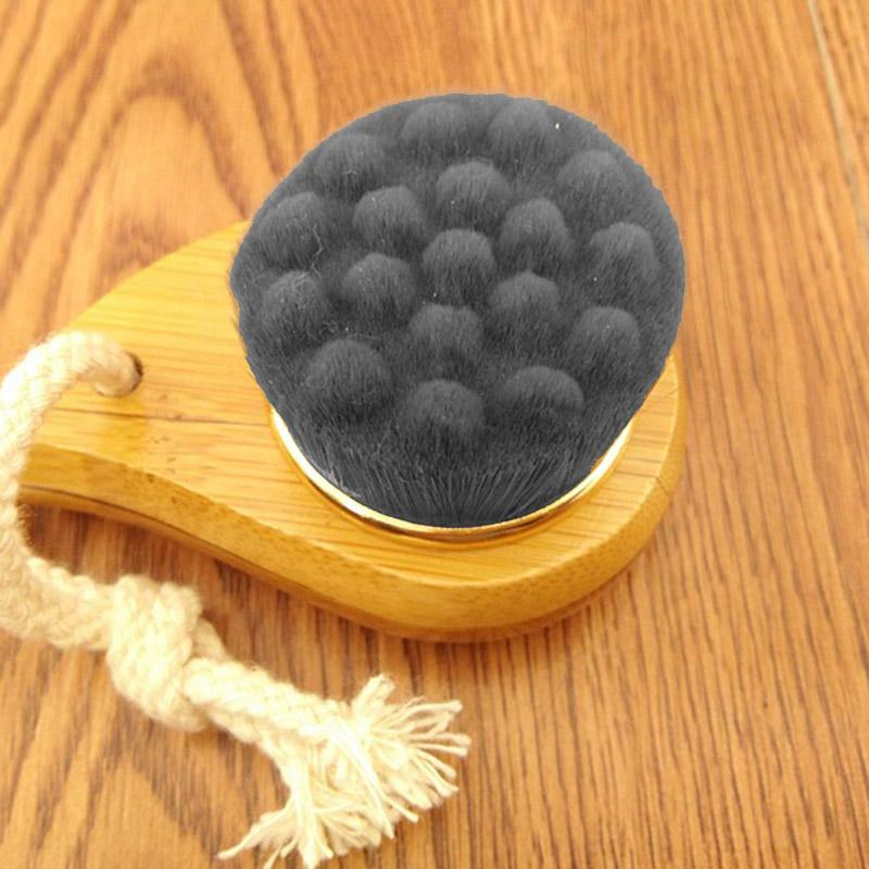 Accessories - Bamboo Charcoal Fiber Soft & Mild Facial Wash Brush