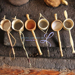 Bamboo Hand Made Tea Strainer Infuser