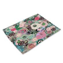 Beautiful Flower Pattern Table Mats Mp00316 Place