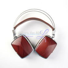 Boss Hifi All Natural Wood Dynamic Metal Headphones Headset