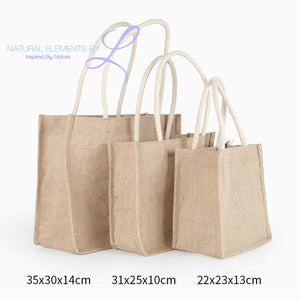 Cotton & Jute High Capacity Eco Bags