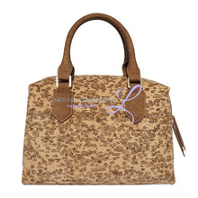 Daphne Luxury Vegan Handmade Natural Cork Handbag Color 1 Handbags