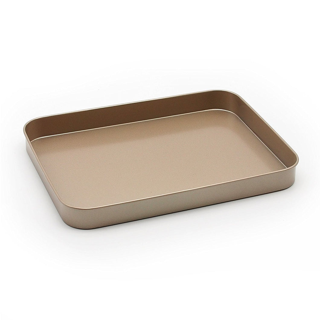 Elements Carbon Steel 10 Inches Non-Stick Square Cake Pan Cookware